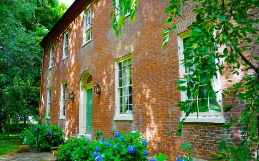 The Samuels House exterior