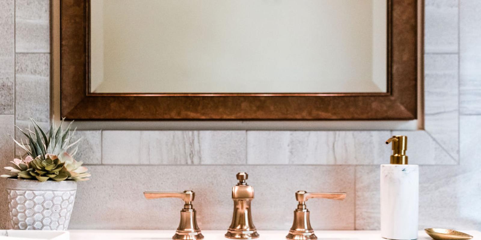 Modern, stylish bathrooms