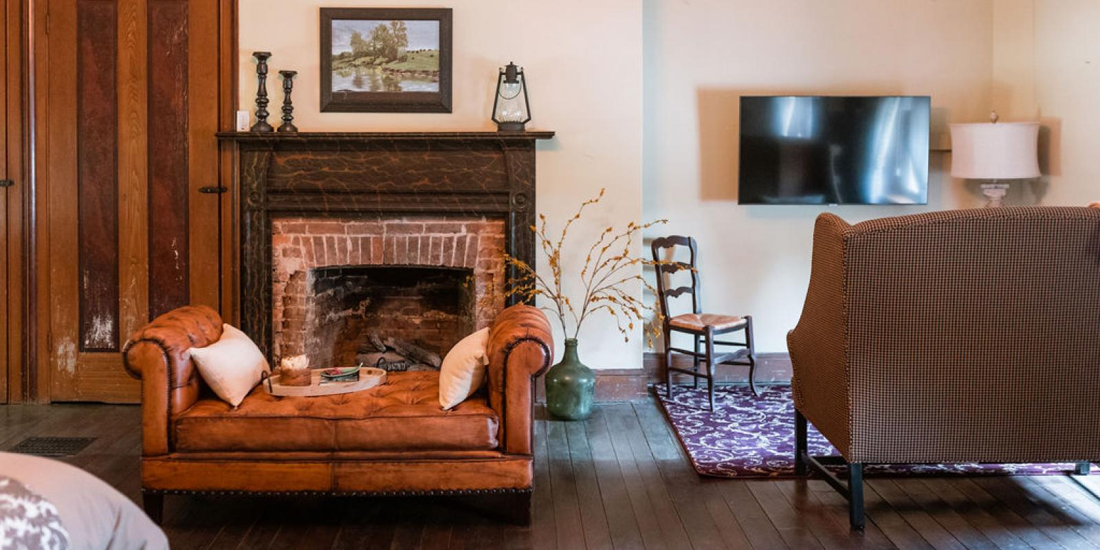 Ample spaces appointed with comfortable furnishing, TVs, fireplaces, and more
